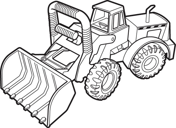 tonka vehicle coloring pages - photo #22
